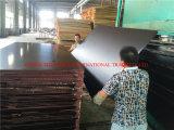 Os materiais de construção filmam a madeira compensada enfrentada para Conctruction