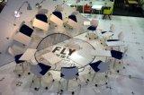 Silla rotatoria móvil de la escuela de la tarjeta de escritura del nuevo diseño 2016
