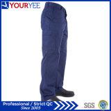 Pantalon fait sur commande populaire de travail de bleu marine pour les femmes (YWP115)