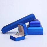 Vakje van de Ring van de Gift van de Juwelen van het Document van de luxe het Populaire Verpakkende