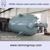 25000L Consumer Titanium Steel Reaction Kettle Reactor R-12