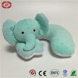 유아 안전한 아기 동물성 모양 귀여운 질 목 베개