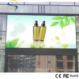 Pantalla de la pantalla del LED para el vídeo de la publicidad al aire libre