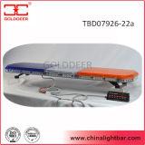Diodo emissor de luz ambarino Emergency Lightbar do azul do veículo 12V (TBD07926-22A)