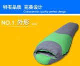 Großverkauf-unten Schlafsack, im Freien einzelner Herbst und Winter-kampierender Schlafsack