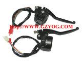 Yog Peças sobressalentes para motocicletas Pega Switch Assy Bajaj Boxer CT 100 Indian Tvs Modelos Cg125 Cgl125 Ybr125 YAMAHA Fz16 Suzuki Gn125