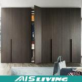 Самомоднейший высокий лоснистый черный шкаф шкафа шкафа (AIS-W150)