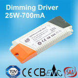 700mA 25W Dimmable LED Stromversorgung mit Cer RoHS