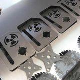 Machine de découpage de laser de configuration de vêtement