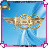 Divisa modificada para requisitos particulares del acero inoxidable para el regalo de la divisa de la impresión