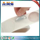 La etiqueta engomada del embalaje 13.56MHz NFC del rodillo marca Ntag213 con etiqueta para la gestión de activos