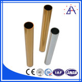 Pipe en aluminium assurément de profil d'extrusion de qualité de fournisseur chinois du principal 10