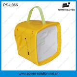 Linterna solar portátil con radio y MP3