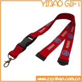Logotipo de impressão a cores completa Lanyard with Metal Hook (YB-LY-18)