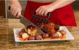 Прочные вытягиванные вилки укротителя мяса BBQ лапок когтей медведя шредера свинины высекая для теплостойкnGs курят барбекю, котор жгущ инструмент