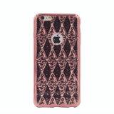 Леопард TPU гальванизирует с iPhone 6 диаманта случай сотового телефона 7 7plus (XSDD-033)