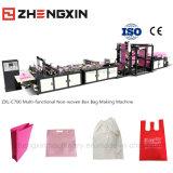 Bolso no tejido de múltiples funciones respetuoso del medio ambiente del rectángulo que hace la máquina