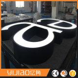 최고 급료 정면 Lit LED 아크릴 편지 표시