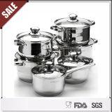 Sistemas alemanes del Cookware del estilo de la calidad de Godd