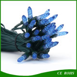 50 LED Blue Icicle Light Strawberry Shape Solar String Light