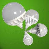 Cor de alumínio de fundição do branco de W da luz de bulbo 15 do diodo emissor de luz