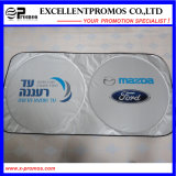 Popular Customized Logo Printed Air Bubble Nylon Car Sunshade (EP-CS1018)