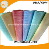 Papel seco molhado da limpeza não tecida profissional do preço de fábrica do fornecedor