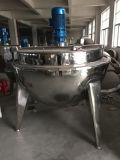 Caldera de cocinar vestida del vapor de 500 litros