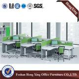 Moderner 2 Sitzbüro-Partition-Zelle-Arbeitsplatz (HX-6D041)
