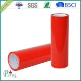 Bande d'emballage de couleur rouge du certificat BOPP de GV pour le cachetage de carton