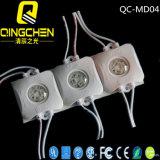 Alto cuadrado brillante para los módulos del contraluz LED de la señalización de la cartelera de la visualización