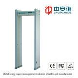 18 Zonen-Finanzinstitut-Sicherheitskontrolle-Detektor mit LCD-Bildschirmanzeige