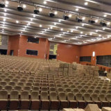 Los asientos del auditorio, sillas de la sala de conferencias, asiento plástico del auditorio del asiento del auditorio, apartan la silla del auditorio (R-6137)