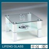 A alta qualidade personalizada aplaina lisamente a tabela de vidro
