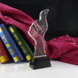De gepersonaliseerde Trofee van het Kristal van de Duim (KS04159)