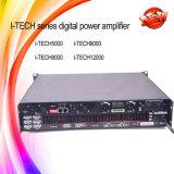 Profesional del amplificador de potencia del precio del amplificador de DJ del audio de Digitaces del canal de la Yo-Tecnología 9000HD 2