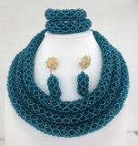 Handmade 구슬 수정같은 형식 복장 숙녀 보석 목걸이 (S 0850-9)