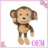 OEM에 의하여 채워지는 장난감, 주문 견면 벨벳 장난감