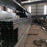 壁及び屋根サポートのための電流を通された鋼鉄Cの母屋