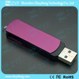 Metaal Swivel USB Flash Drive met Logo (ZYF1172)