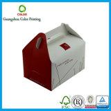 Personnaliser le cadre de papier bon marché de pignon pour le gâteau