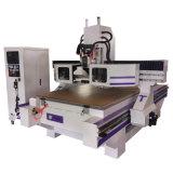 Máquina de gravura do CNC do router do CNC do cambiador das ferramentas (VCT-A1530ATC8)