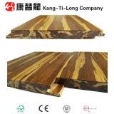 Tiger-Strang gesponnener hölzerner Bambusfußboden