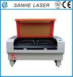 Máquina de estaca avançada do laser do CO2 para o plástico de pano do metalóide