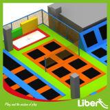 Tuv-GS het Goedgekeurde Park van de Trampoline van de Rechthoek van Liben