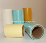Papel colorido del lanzamiento del papel cristal con el amarillo azul blanco
