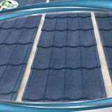 Prix enduit de tuile de toiture en métal de sable matériel de construction de bâtiments