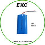 熱い販売Exc18650 4000mAh 3.7V李イオン電池のパック