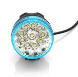 IP68 lumière avant de vélo de bicyclette de Xml T6 16000lm de CREE de la haute énergie 9/10/11 DEL