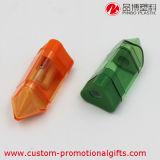 Affûteuse simple séparable en plastique de trou d'utilisation d'enfants avec la gomme à effacer